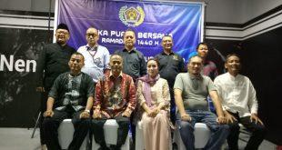 Pengurus Harian PWI Provinsi DKI Jakarta yang telah dibentuk untuk masa kerja tahun 2019-2024. Perkenalan itu dihadiri Ketua PWI Pusat Atal S Depari dan Kamsul Hasan