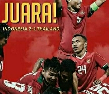 Timnas U-22 Indonesia menorehkan sejarah sepakbola Indonesia