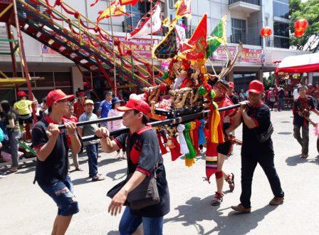 Festival Cap Go Meh di Jakbar Berlangsung Meriah (bjc)
