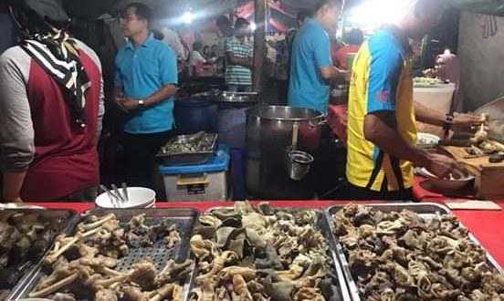 "Kedai ""Sop Kaki Kambing Dudung"" di Roxy, Jakarta Barat"