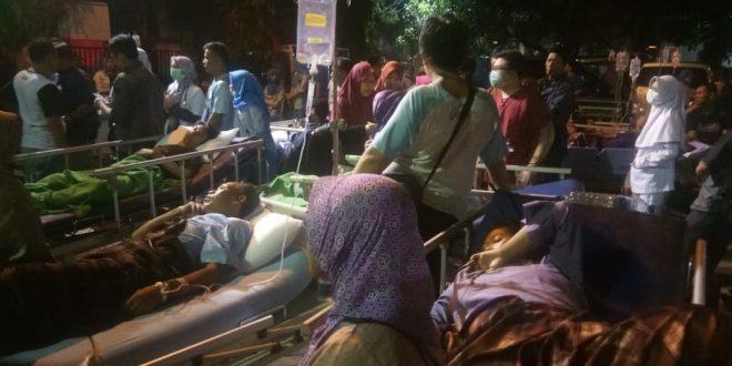 Pasien RSUD Kota Tangerang pada Selasa (26/2). (ist)