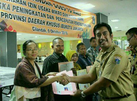 Kepala UP PTSP Kecamatan Cilandak Edi Riyanto