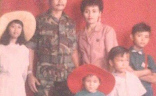 Nisma Abdullah istri Prajurit Marinir AL (Alm) Lexie Hengki Pandeiroot. Saya tinggal di Komplek Seroja Jalan Sawo No10A Harapan Jaya Bekasi Utara. (ist)