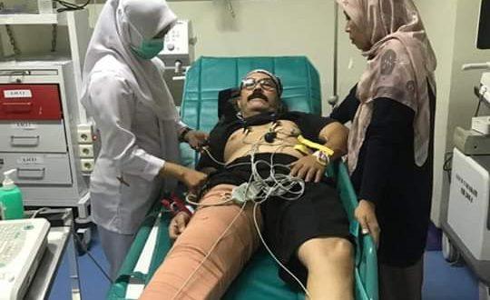 Aktor Leroy Osmany kini menjalani operasi di RS Tarakan Jakarta Pusat
