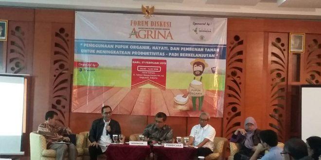 Diskusi AGRINA di Jakarta kemarin.