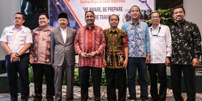 Bagian Manajemen Krisis Kepariwisataan, Biro Komunikasi Publik (Komblik) Kemenpar bersama Forum Wartawan Pariwisata (Forwapar) di A One Hotel Jakarta, kemarin.