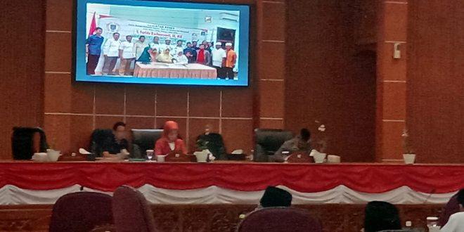 Sekretariat DPRD Kota Depok menggelar forum rencana kerja (Renja) tahun 2020, di ruang Rapat Paripurna DPRD Kota Depok. (swd)