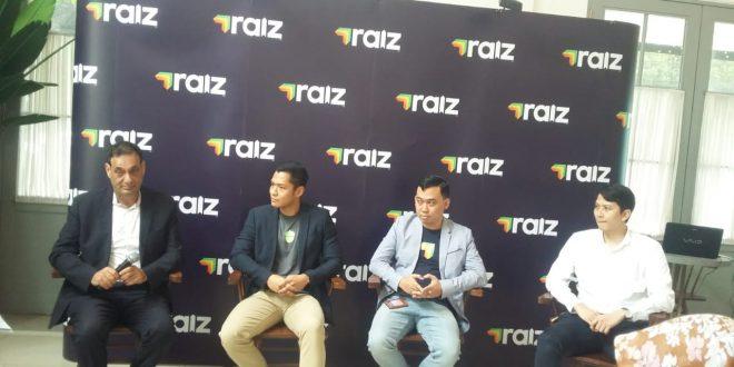George Lucas Chief Executive Officer Raiz Invest Indonesia di Jakarta,pada konferensi pers di kawasan Kebayoran Baru, Jakarta kemarin.