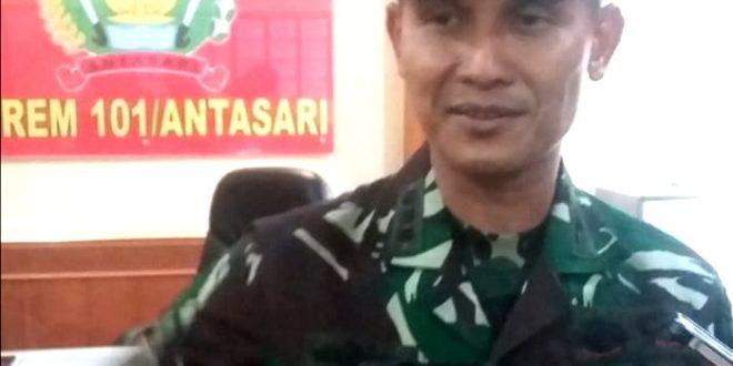 Komandan Korem (Danrem)101/Ant Kolonel (Inf) M Syech Ismed