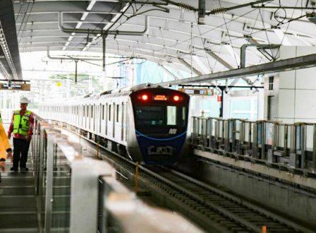 Uji coba publik Moda Raya Terpadu (MRT) Ratangga