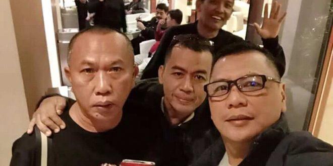 Para pengurus PWI Provinsi DKI Jakarta Berman Nainggolan, Sayid Iskandarsyah dan Kesit B Handoyo