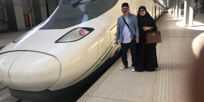 Saudi kini memiliki moda transportasi Harramain High Speed Railway ( HHSR)