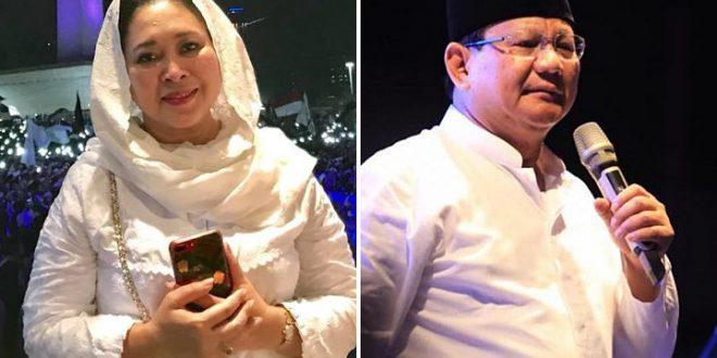 Titiek Soeharto dan Prabow