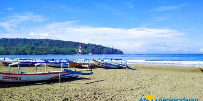 Cerah Merona Cuaca Objek Wisata Pantai Pangandaran