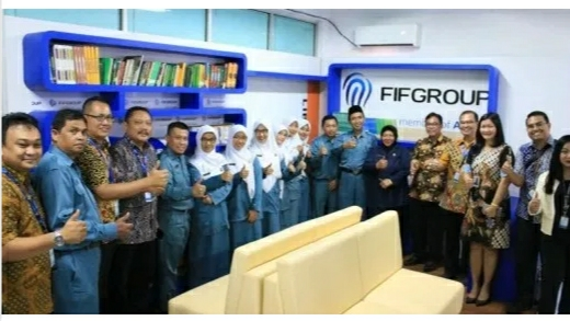 Federal International Finance (FIFGROUP) meresmikan Reading Corner di 5 SMK unggulan di 5 kota di Indonesia