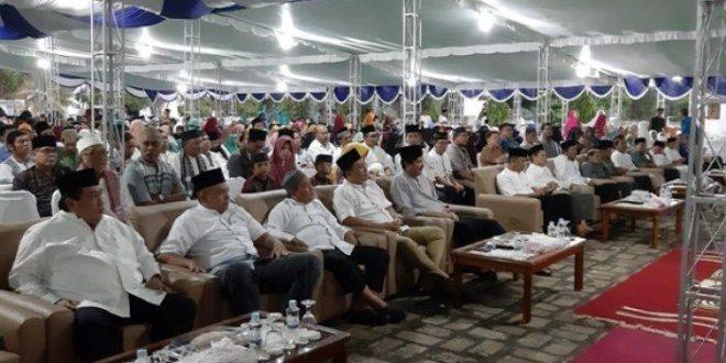 PT Timah Tbk Gelar Safari Ramadhan di Masjid Al-Huda, Kecamatan Muntok, Kabupaten Bangka Barat, Rabu (15/5/2019) lalu.