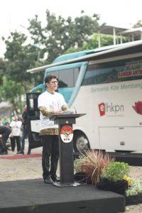 Roadshow Bus KPK 2019 secara resmi diluncurkan oleh Wakil Ketua KPK Laode M. Syarif pada Jumat (21/06).