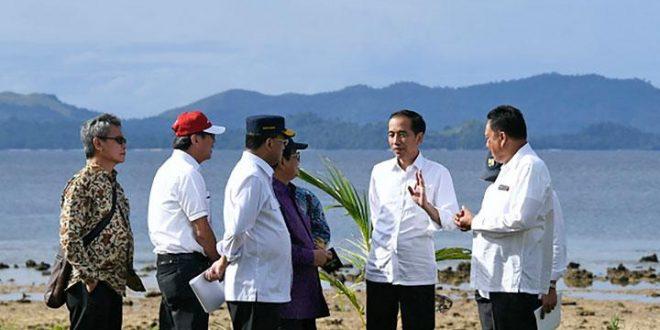 Jokowi kunjungi Taman Nasional Bunaken, Sulawesi Utara